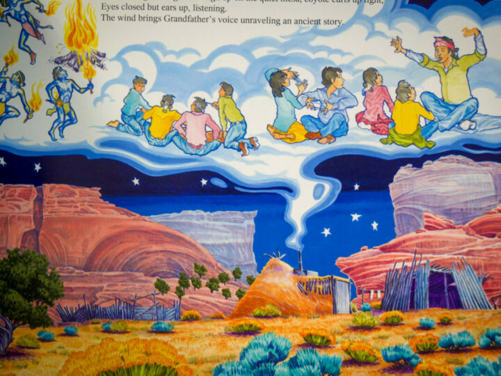 Navajo Traditional Storytelling
